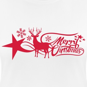 merry-christmas T-shirts - vrouwen T-shirt ademend