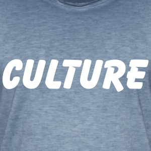 culture T-shirts - Mannen Vintage T-shirt