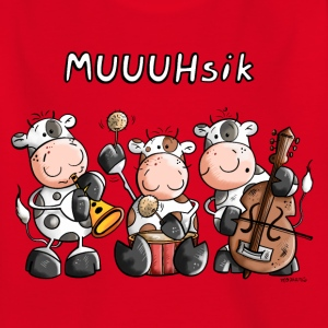 MUUUHsik Kühe T-Shirts - Teenager T-Shirt