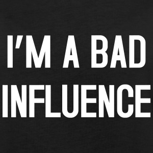 I'm a bad influence T-shirts - Dame oversize T-shirt