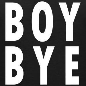 BOY BYE T-Shirts - Women's V-Neck T-Shirt