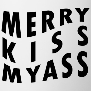 MERRY KISSMYASS Mugs & Drinkware - Mug