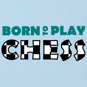 Born to play Chess T-shirts - Camiseta ecológica niño