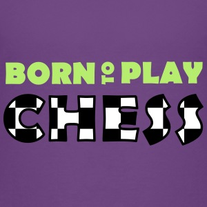 Born to play Chess T-shirts - Camiseta premium niño