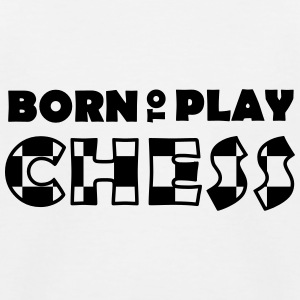 Born to play Chess T-shirts - Camiseta béisbol niño