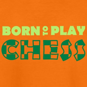 Born to play Chess T-shirts - Teenage Premium T-Shirt