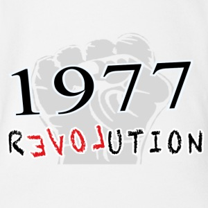 The Revolution  1977 Baby Bodys - Baby Bio-Kurzarm-Body