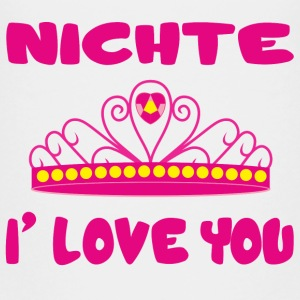 Nichte i love you T-Shirts - Teenager Premium T-Shirt
