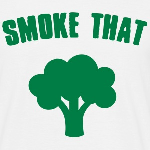 Smoke that Broccoli T-shirts - Herre-T-shirt