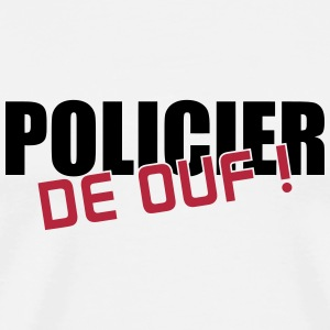 Policier / Police / Justice / Crime Tee shirts - T-shirt Premium Homme
