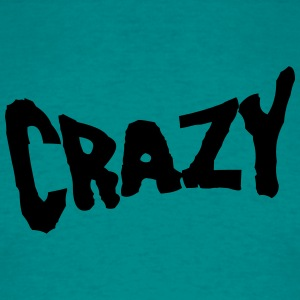 Text font logo design cool crazy crazy confused st T-Shirts - Men's T-Shirt