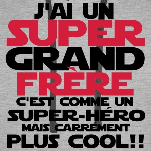j'ai un super grand frère Sweat-shirts - Sweat-shirt à capuche Premium pour hommes