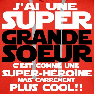 j'ai une super grande soe Sweat-shirts - Sweat-shirt à capuche Premium pour hommes