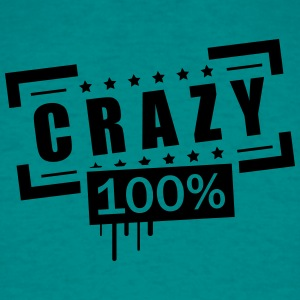 Stamp patented text font logo design cool crazy cr T-Shirts - Men's T-Shirt