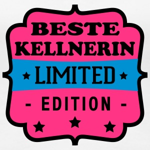 Beste kellnerin limited edition T-Shirts - Frauen Premium T-Shirt