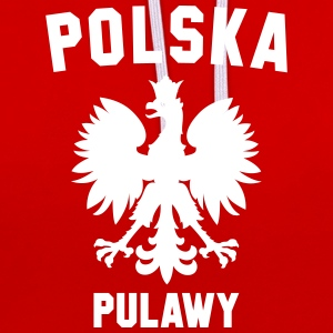 PULAWY - Contrast Colour Hoodie