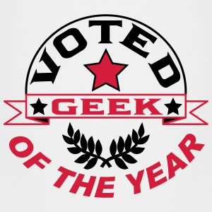 Voted geek of the year T-Shirts - Kinder Premium T-Shirt