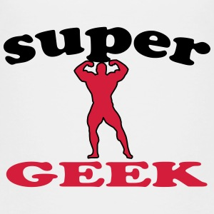 Super geek T-Shirts - Kinder Premium T-Shirt