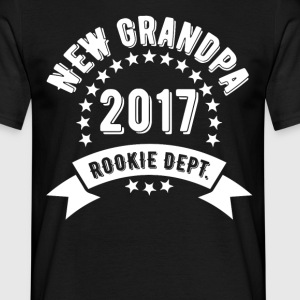 New Grandpa 2017 T-Shirts - Men's T-Shirt
