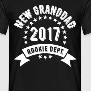 New Granddad 2017 Rokie Dept T-Shirts - Men's T-Shirt