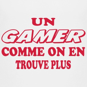 Un gamer comme on en trouve plus T-Shirts - Teenager Premium T-Shirt