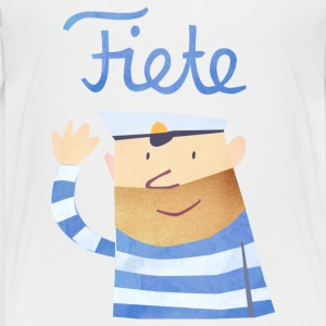 'Hello' Fiete Kids Shirt - white - Kinder Premium T-Shirt