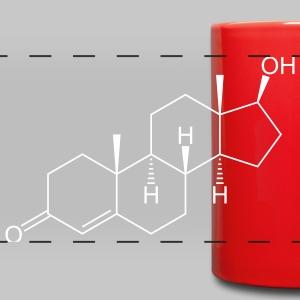 Testosterone (Male Sex Hormone) Molecule