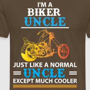 Biker Uncle... T-Shirts - Men's Premium T-Shirt