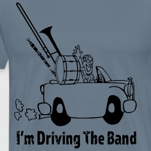 Driving the band T-shirts - Mannen Premium T-shirt