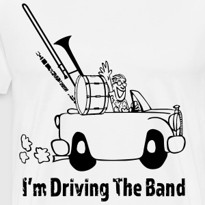 Driving the band T-Shirts - Men's Premium T-Shirt