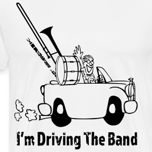 Driving the band T-skjorter - Premium T-skjorte for menn