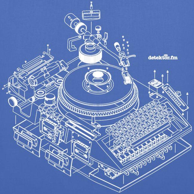 detektor.fm Beutel
