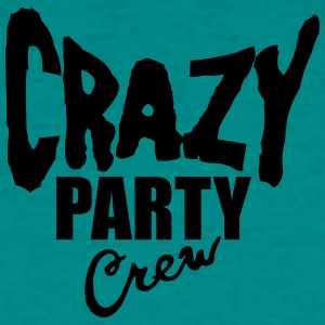 Party crew team friends text font logo design cool T-Shirts - Men's T-Shirt