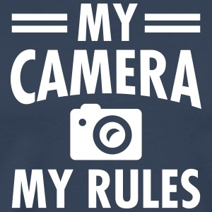 My Camera - My Rules T-Shirts - Männer Premium T-Shirt