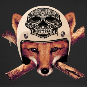 FOX-skull-head Casquettes et bonnets - Trucker Cap