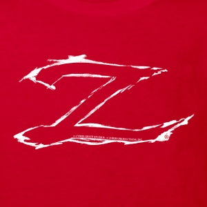 Zorro The Chronicles Trademark Letter Z - Kids' Organic T-shirt