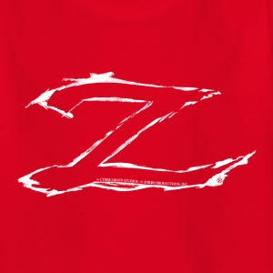 Zorro The Chronicles Trademark Letter Z - Camiseta adolescente