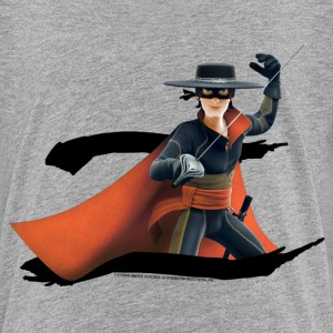 Zorro The Chronicles Masked Hero And Letter Z - Camiseta premium niño