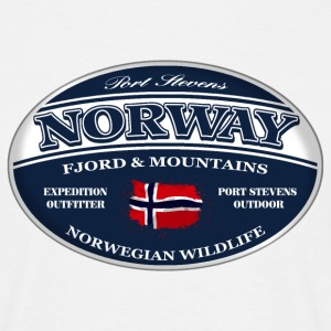 Norway - Norge - Norwegen T-Shirts - Männer T-Shirt
