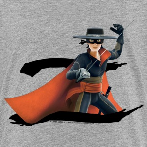 Zorro The Chronicles Masked Hero And Letter Z - Teenage Premium T-Shirt
