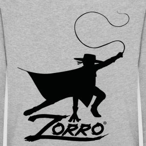 Zorro The Chronicles Silhouette Mit Peitsche - Kinder Premium Langarmshirt