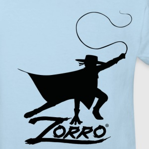 Zorro The Chronicles Silhouette Mit Peitsche - Kinder Bio-T-Shirt