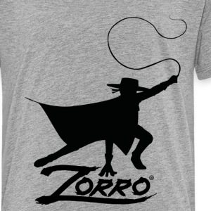 Zorro The Chronicles Silhouette With Whip - Premium-T-shirt tonåring