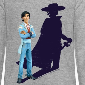 Zorro The Chronicles Don Diego Shadow - Långärmad premium-T-shirt tonåring