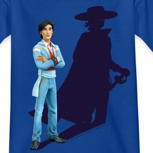 Zorro The Chronicles Don Diego Schatten - Kinder T-Shirt