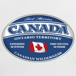 Canada - Kanada - Maple Leaf T-Shirts - Frauen Kontrast-T-Shirt