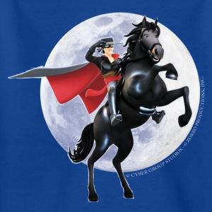 Zorro The Chronicles Horse Tornado Full Moon - Camiseta adolescente