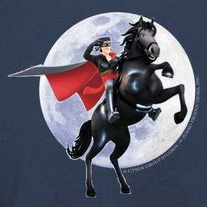 Zorro The Chronicles Horse Tornado Full Moon - Kids' Premium Longsleeve Shirt