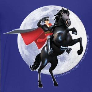 Zorro The Chronicles Horse Tornado Full Moon - Premium-T-shirt tonåring