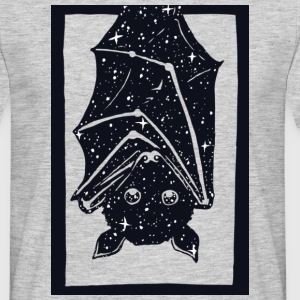 Heather grey Spacebat T-Shirts - Men's T-Shirt